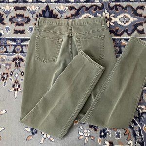 Vintage High Rise Jeans Green